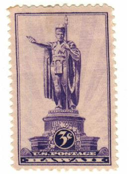 1937 3c Hawaii For Sale At Mystic Stamp Company