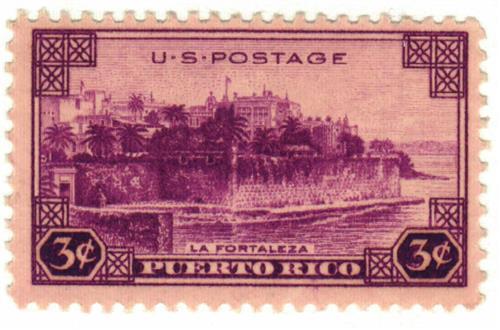 1937 3c Puerto Rico