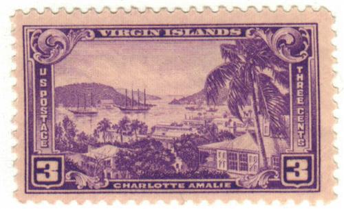 1937 3c Virgin Islands