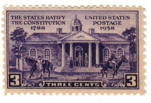 1938 3c Constitution Ratification