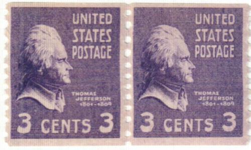 1939 3c Jefferson, deep violet