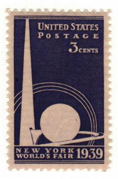 1939 3c New York World's Fair