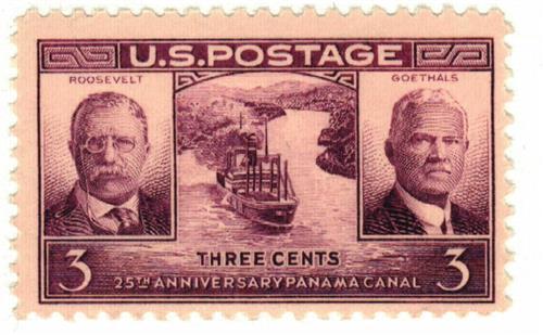 1939 3c Panama Canal
