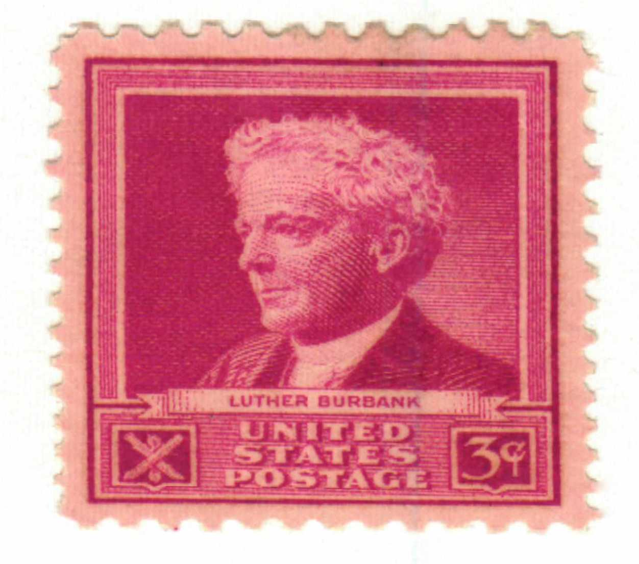 1940 3c Luther Burbank For Sale At Mystic Stamp Company