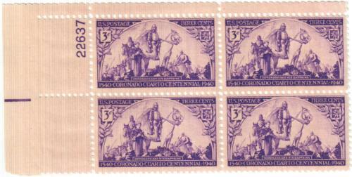 1940 3c Coronado Expedition