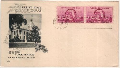 1945 3c Florida Statehood