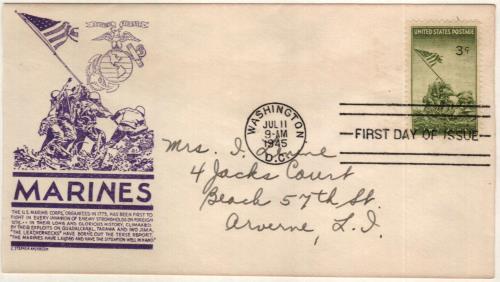 1945 3c Iwo Jima