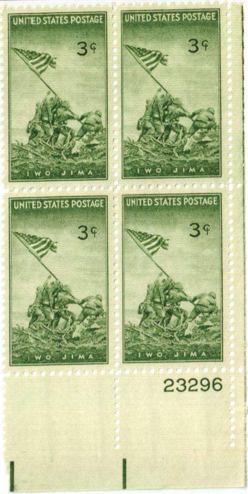 1945 3c US Armed Forces: Iwo Jima