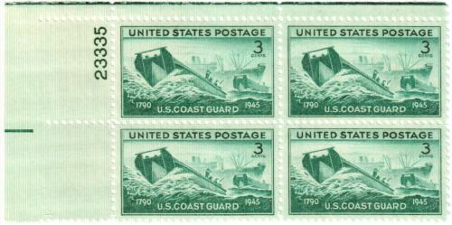 1945 3c US Armed Forces: Coast Guard