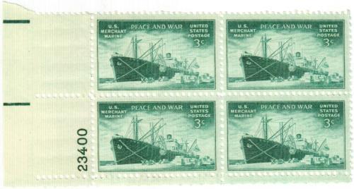 1946 3c US Armed Forces: Merchant Marine