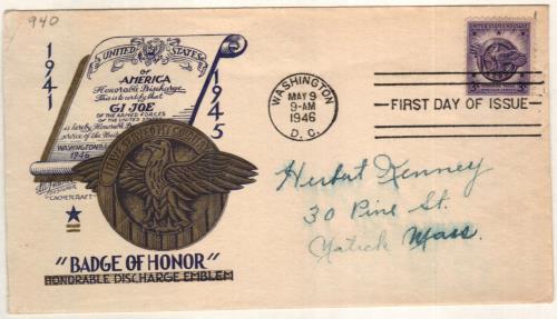 1946 3c Veterans of World War II