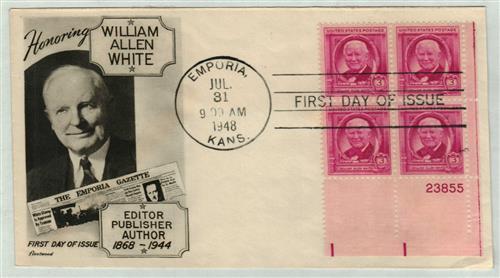 1948 3c William Allen White