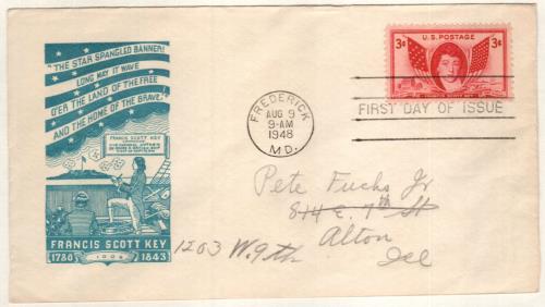 1948 3c Francis Scott Key