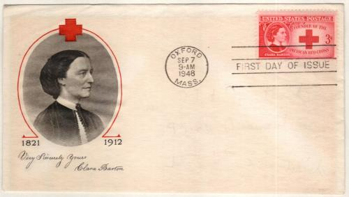 1948 3c Clara Barton