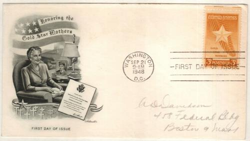1948 3c Gold Star Mothers