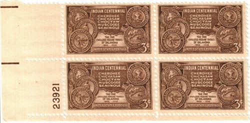 1948 3c Indian Centennial