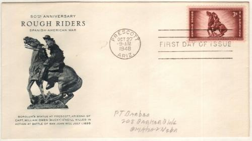 1948 3c Rough Riders