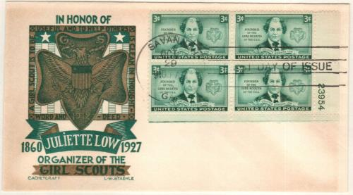 1948 3c Juliette Low