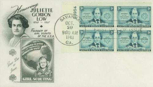 1948 3c Juliette Low