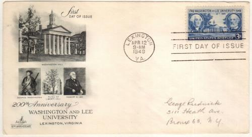 1949 3c Washington and Lee University