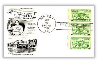 1949 3c Puerto Rico Election