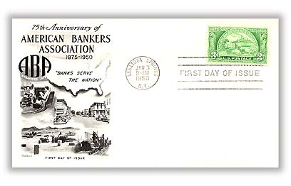 1950 3c American Bankers Association