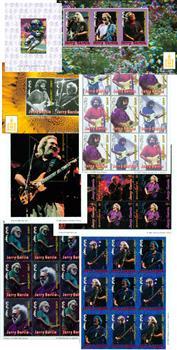 Jerry Garcia Stamp Collection 138v