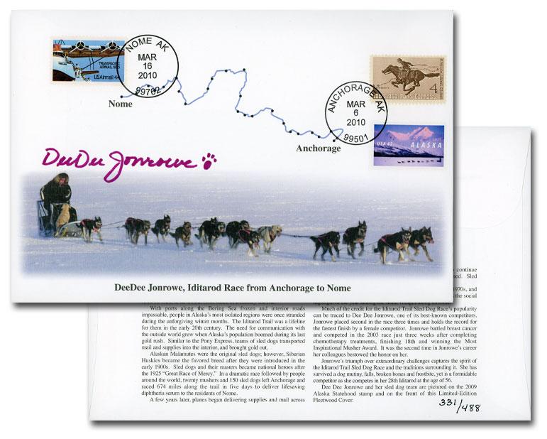 2010 Iditarod Autographed Cover