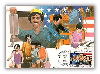 1984 20c Hispanic Americans