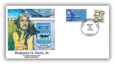 1996 POF Benjamin O. Davis, Jr. Commem. Cvr