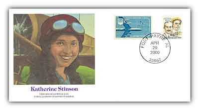 2000 Katherine Stinson POF Commemorative Set