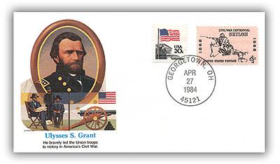 1984 Ulysses S Grant Commemorative Cover