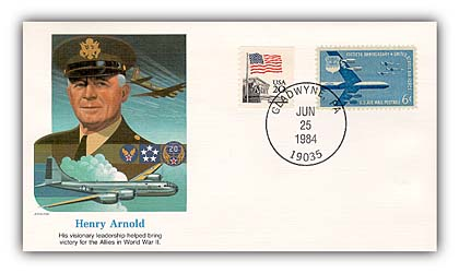 1984 Henry (Hap) Arnold Commemorative Cover