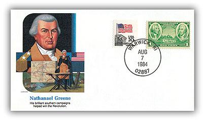 1984 Nathaniel Greene Commemorative Cover