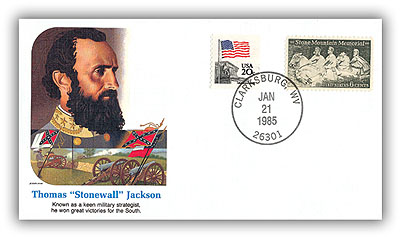 1985 Thomas (Stonewall) Jackson Commem Cover