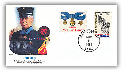 1985 Daniel J Daly Commemorative Cover