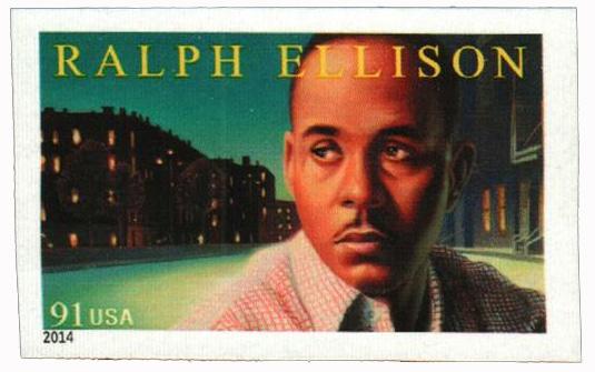 2014 91c Imperf Ralph Ellison