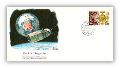 1979 Yuri A Gagarin Commemorative Cover
