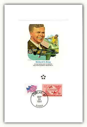 1991 AGMH Richard I. Bong Proofcard Only