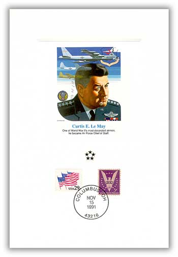 1991 AGMH Curtis Lemay Proofcard Only