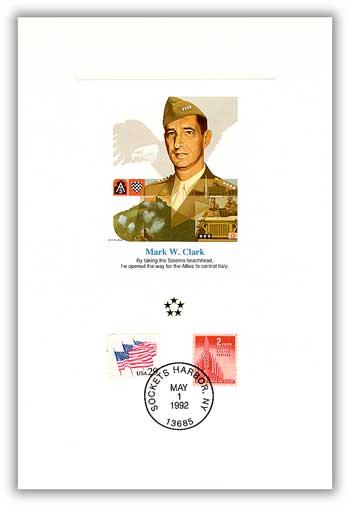 1991 AGMH Mark Clark Proofcard Only