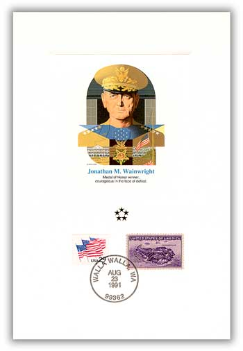 1991 AGMH Jonathan Wainwright Proofcard Only