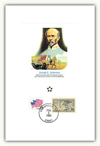 1991 AGMH Joseph Johnston Proofcard Only