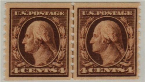 1912 4c Washington, brown