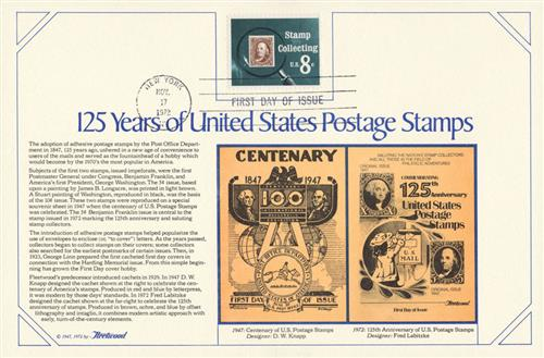 1972 8c Stamp Collecting