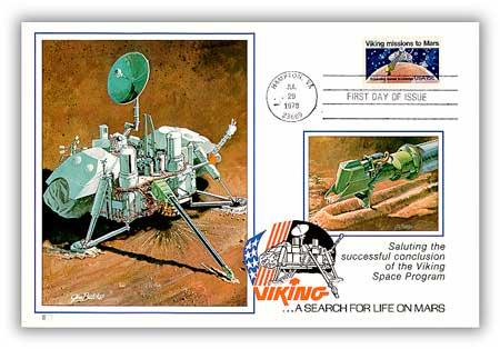 1978 15c Viking Missions to Mars