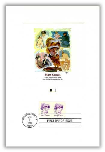 1988 23c Great Americans: Mary Cassatt