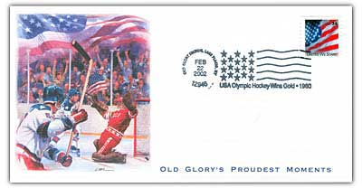 2002 Old Glory's Proudest Moments - USA Olympic Hockey Wins Gold