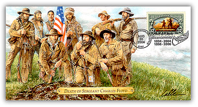 2004 Lewis & Clark 'Death of Sergeant Charles Floyd' Commemorative Cover
