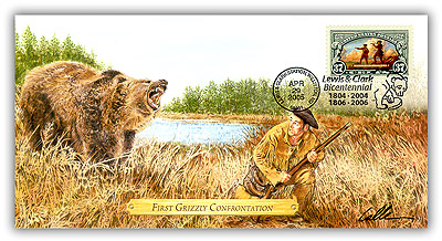 2005 L&C First Grizzly Confrontation Commem